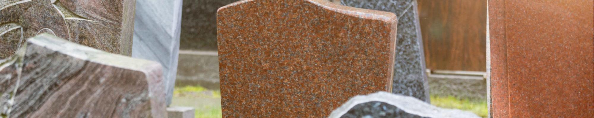 new grave stones